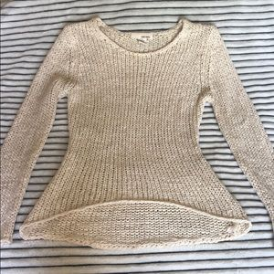 Knit High-Low Sweater